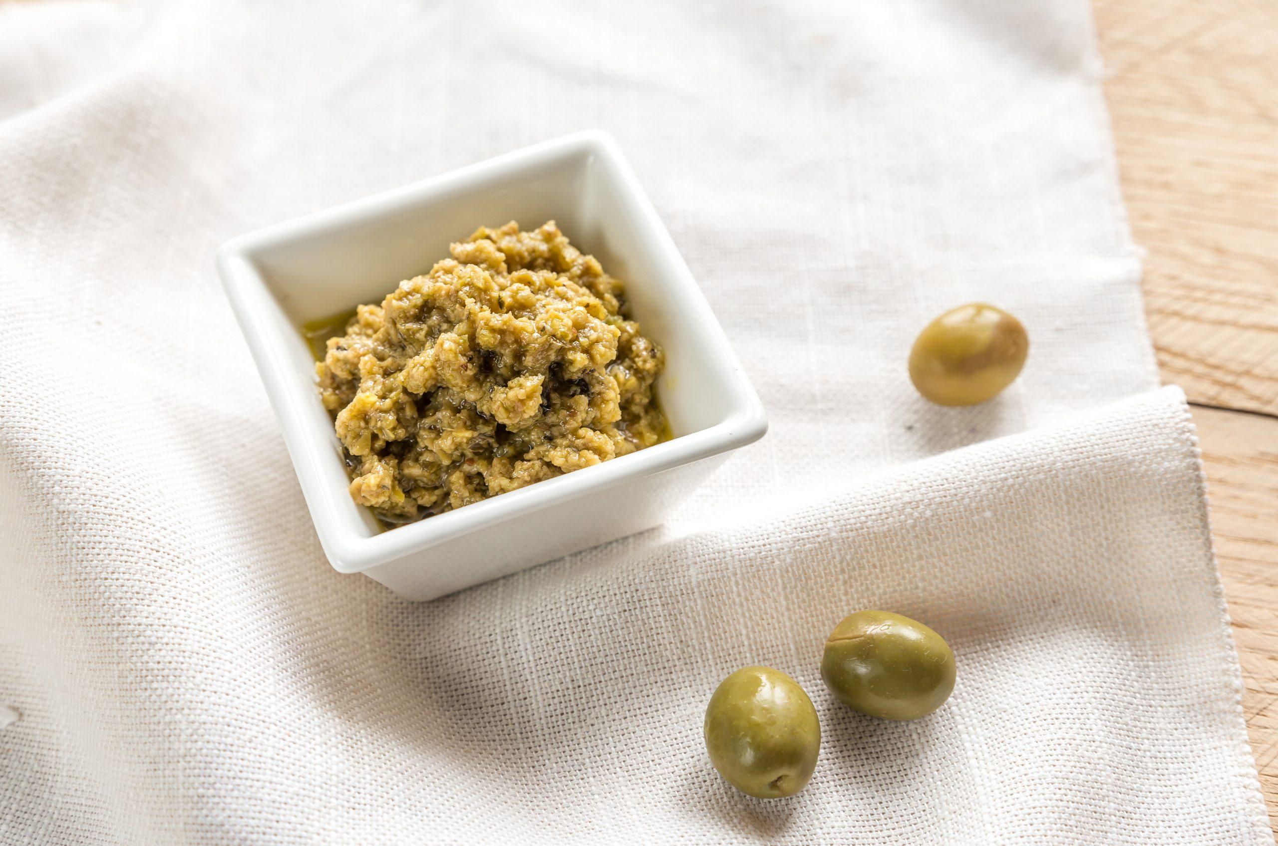 Pasta z twarogu i oliwek