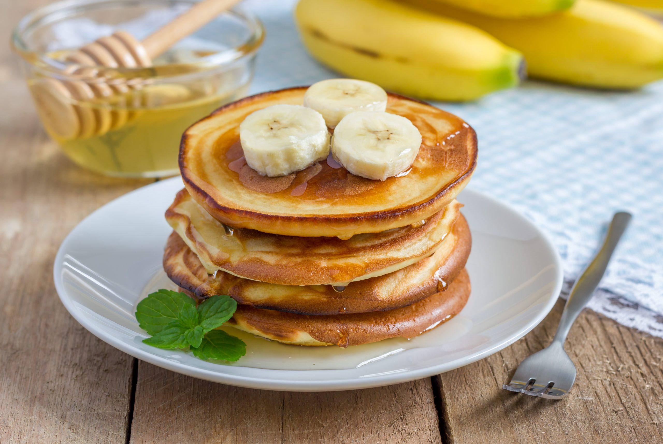 Fit placuszki bananowe